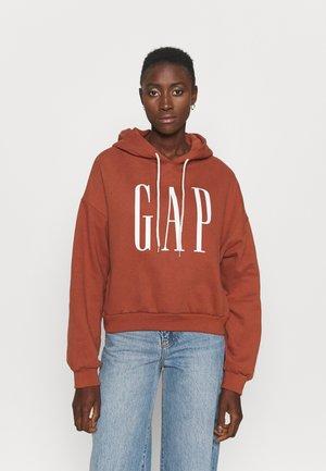 CROP - Sweater - saddle