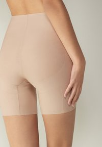 Intimissimi - MIT OFFENEN KANTEN - Pants - beige - 1