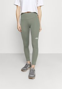 The North Face - WOMENS NEW FLEX HIGH RISE 7/8 - Tights - agave green - 0