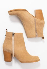 Sixtyseven - NALE - Boots à talons - milda sand/rabat sand - 3