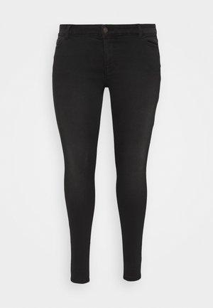 PCNEW - Jeans Skinny Fit - black denim
