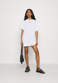 Nike Sportswear - DRESS - Jersey dress - white - 1