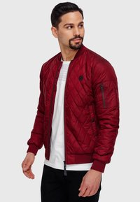 INDICODE JEANS - NOVAK - Light jacket - bordeaux - 7