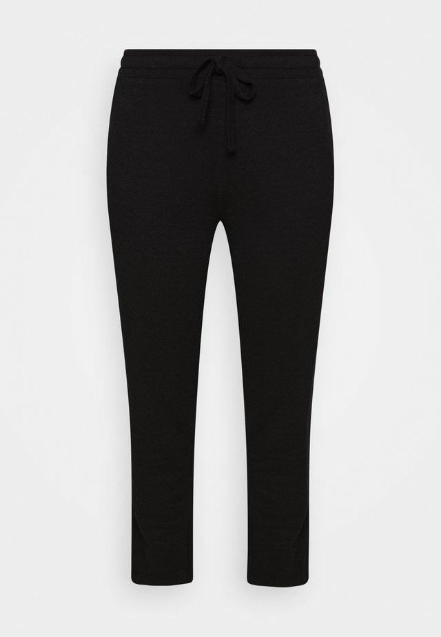 VMAMAIDRAWSTRING TROUSER CURVE - Pantalon classique - black