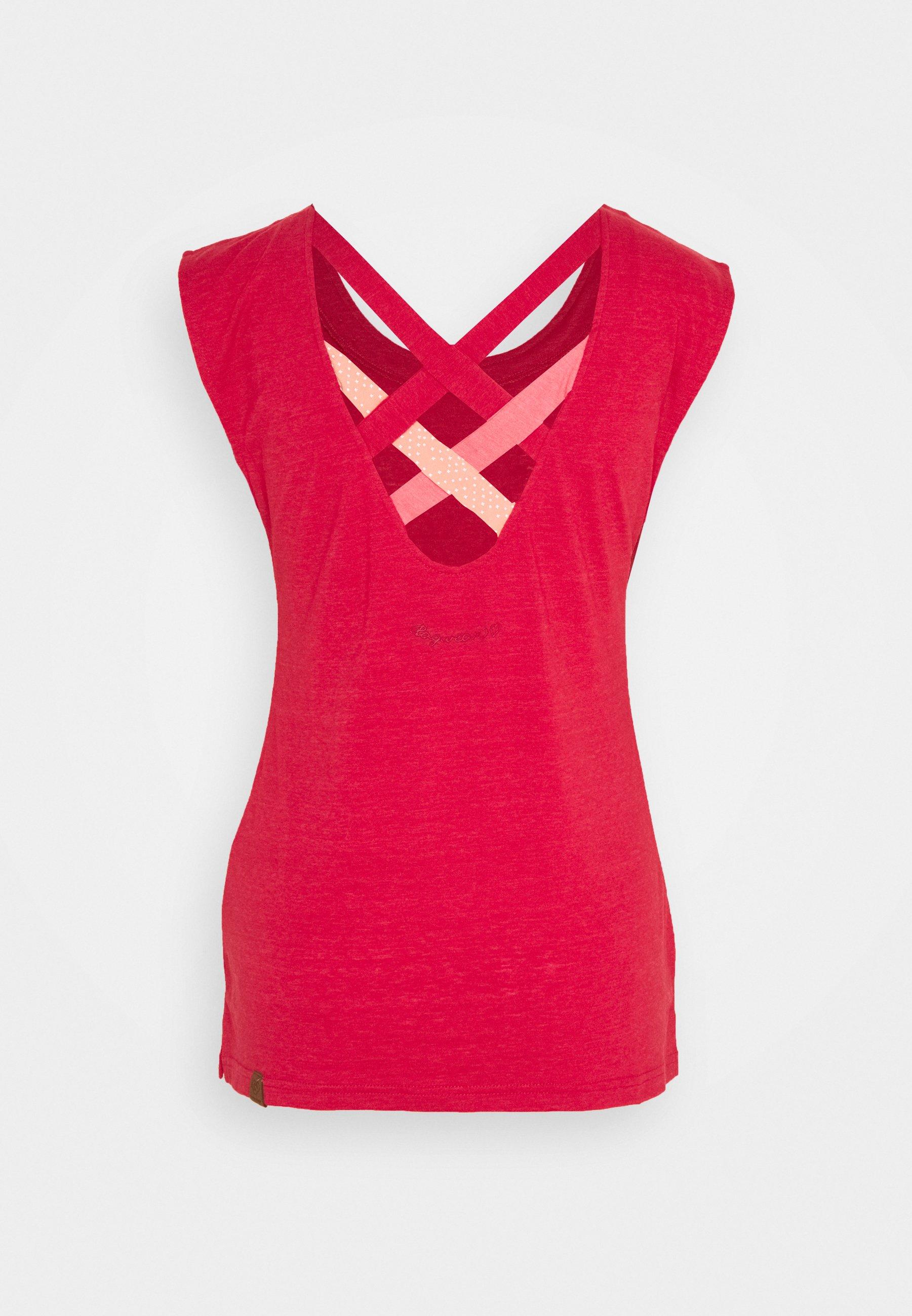 Ragwear Sofia - T-shirts Red/rød