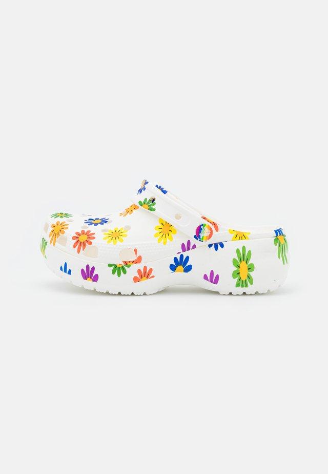 CLASSIC PRIDE  - Muiltjes - white/multicolor