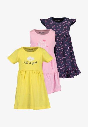 BASICS - Day dress - stroh azalee nacht aop