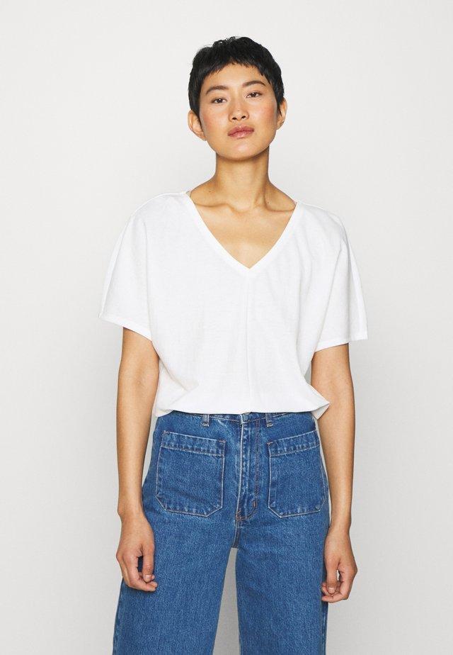 T-shirt basique - cream