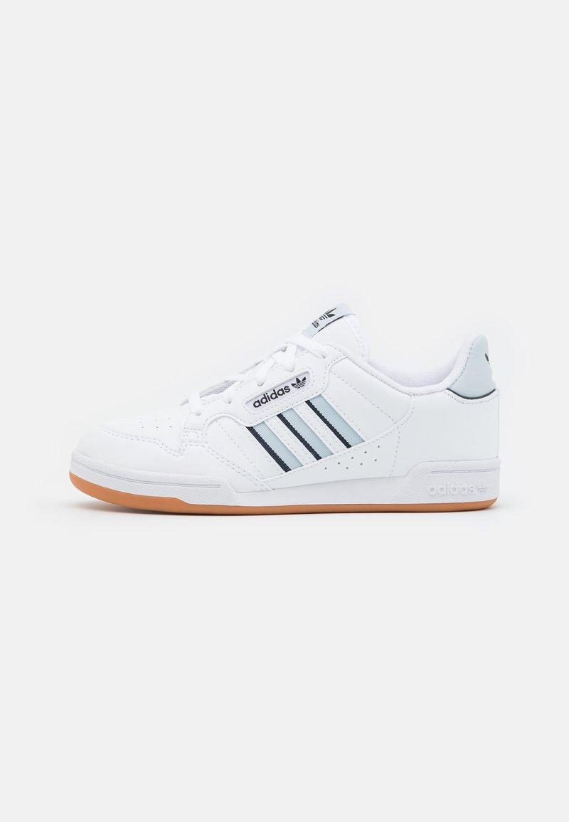 adidas Originals - CONTINENTAL 80 STRIPES UNISEX - Trainers - footwear white/halo blue/collegiate navy