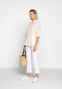 Lauren Ralph Lauren - TISSUE - Button-down blouse - pink/cream - 1