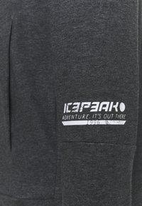 Icepeak - MORLEY - Zip-up hoodie - lead grey - 2
