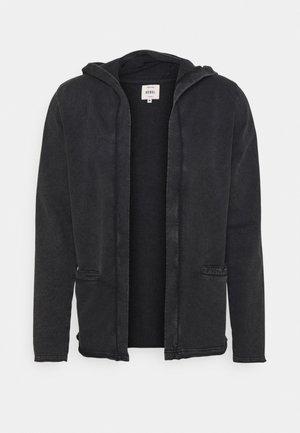 UNISEX - Sweater met rits - black