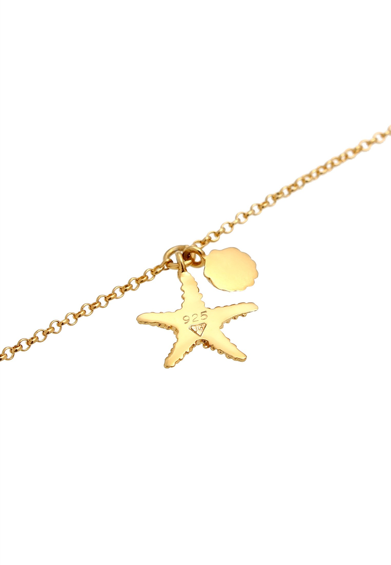 Elli SEESTERN MUSCHEL MEER MARITIM - Armband - gold-coloured/gold - Herrenaccessoires LHOfa