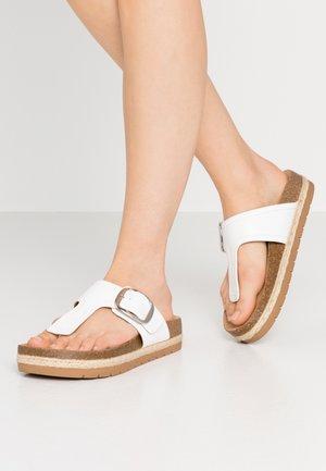 SKYYE - T-bar sandals - white