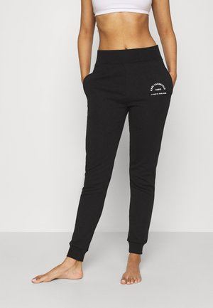 ADDRESS LOGO - Tracksuit bottoms - black