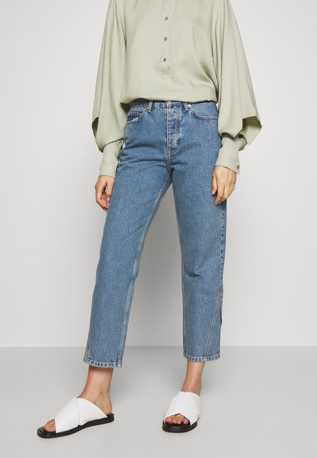 PIXI EXCLUSIVE - Jeans a sigaretta - distressed blue