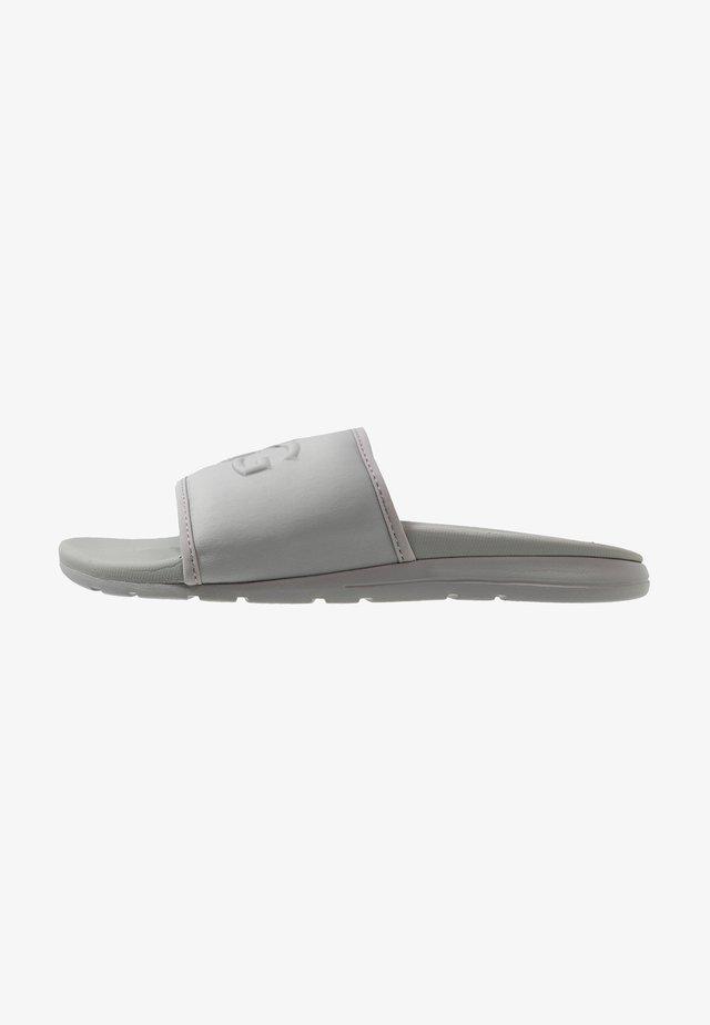 XAVIER GRAPHIC - Slippers - grey