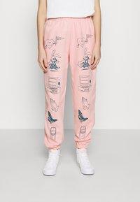 NEW girl ORDER - CLIP ART  - Joggebukse - pink - 0