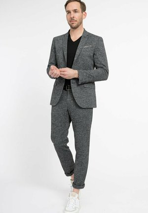 DINORRIS SLIM - Blazer jacket - anthracite