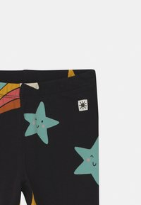 Lindex - STAR PRINT 2 PACK UNISEX - Leggings - Trousers - off black - 3