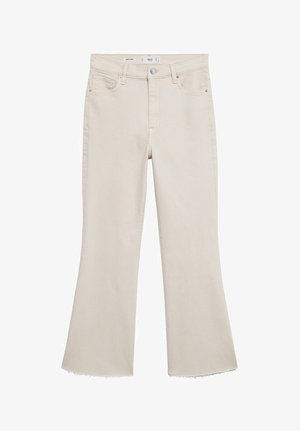 SIENNA - Flared Jeans - écru