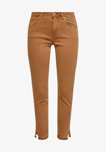 Slim fit jeans - brown