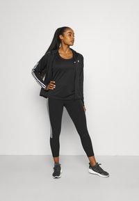 adidas Performance - T-shirt de sport - black/white - 1