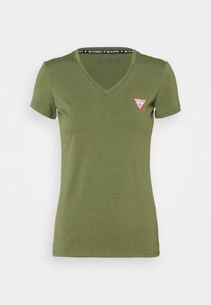 SS VN MINI TRIANGLE - Basic T-shirt - baja palm