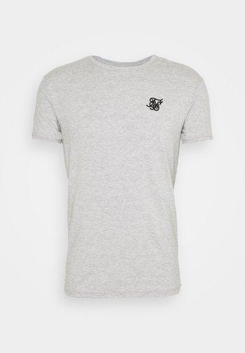 SHORT SLEEVE GYM - T-shirt basique - grey marl