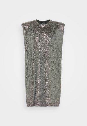 ALVINA BLING DRESS - Cocktailkjole - silver / black