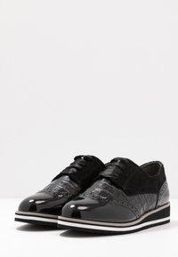 Caprice - Šněrovací boty - black - 4
