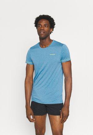 BOGEN - Print T-shirt - blue