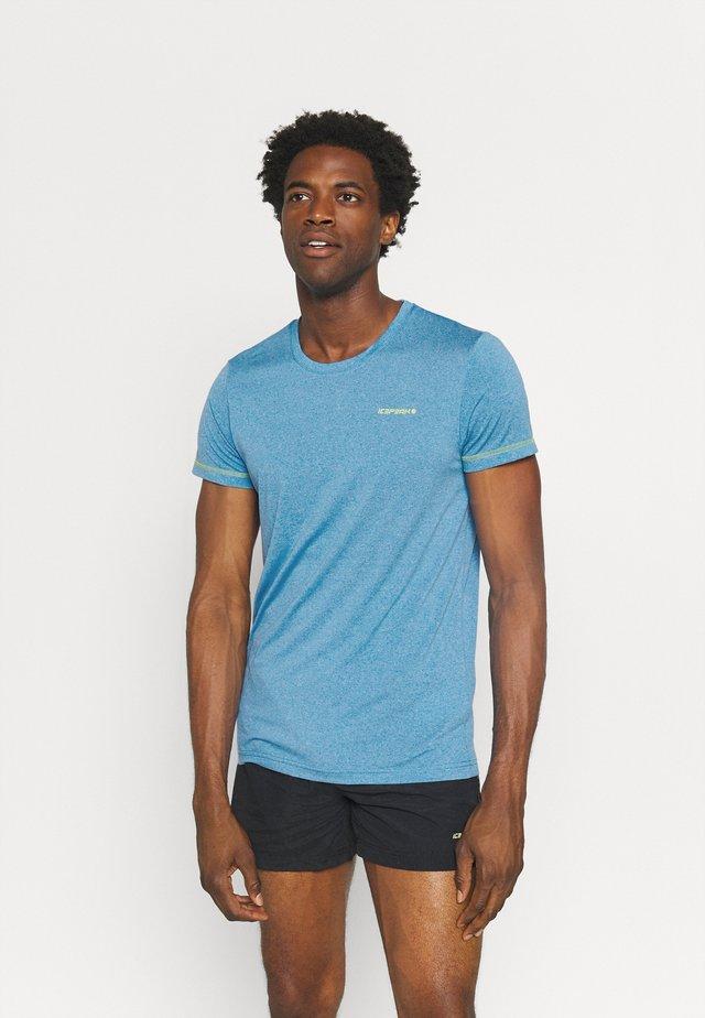 BOGEN - T-shirt print - blue