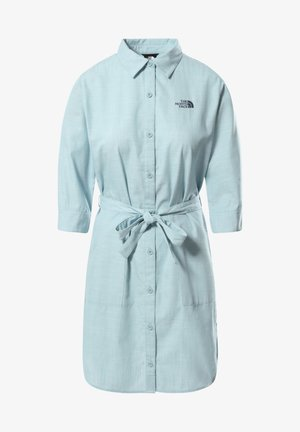 W BERNINA DRESS - Shirt dress - tourmaline blue chambray