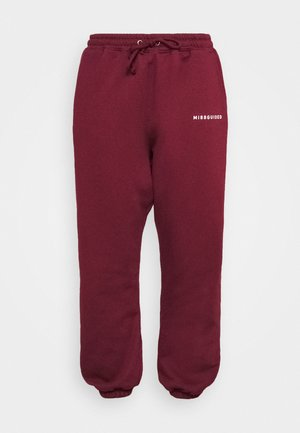 Tracksuit bottoms - wine