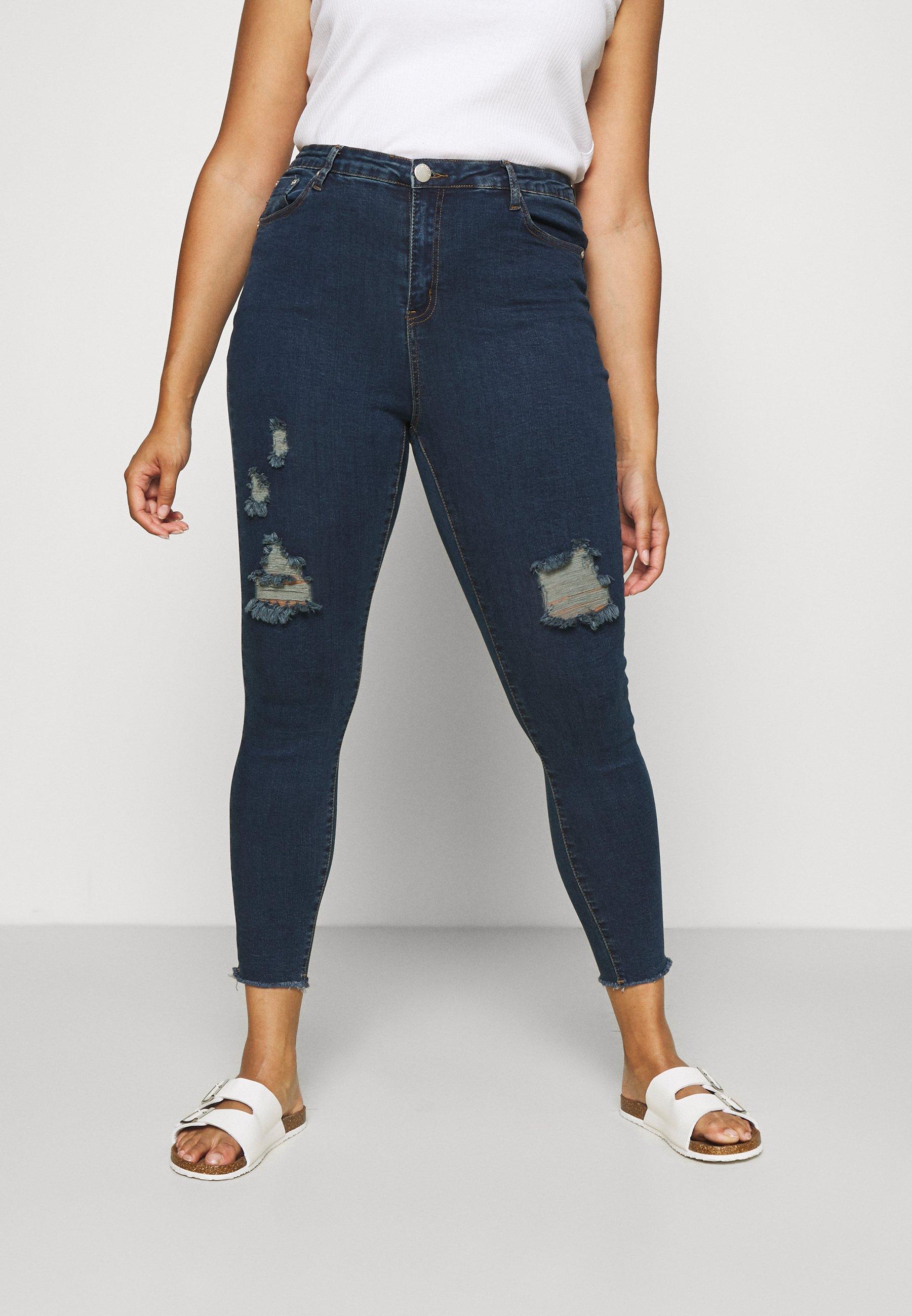 Women RIPPED WREN - Jeans Skinny Fit