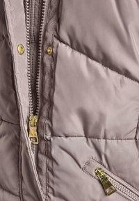 Next - Winter coat - mauve - 6