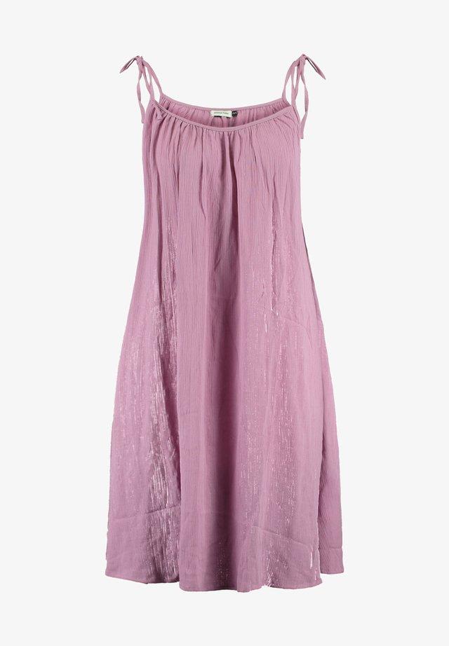JURK MYLA - Korte jurk - old pink