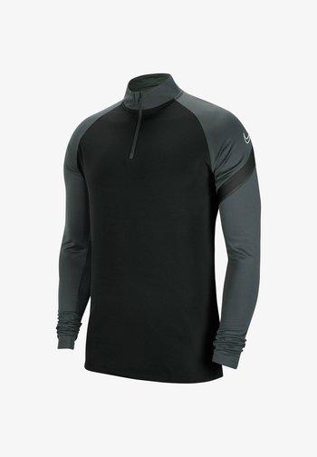 Langarmshirt - schwarz/grau (718)