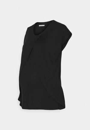 NURSING - Print T-shirt - black