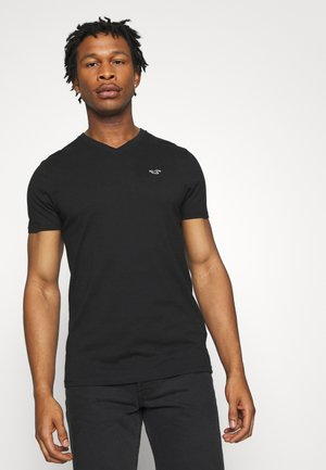 SOLIDS  - Basic T-shirt - black