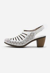 Rieker - Sandals - hartweiß - 1