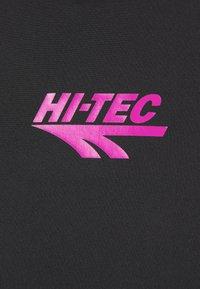 Hi-Tec - BOLT TEE - Triko spotiskem - black - 5