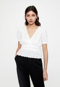PULL&BEAR - Bluse - white - 0
