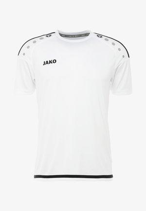 TRIKOT STRIKER  - Sports shirt - weiß/schwarz