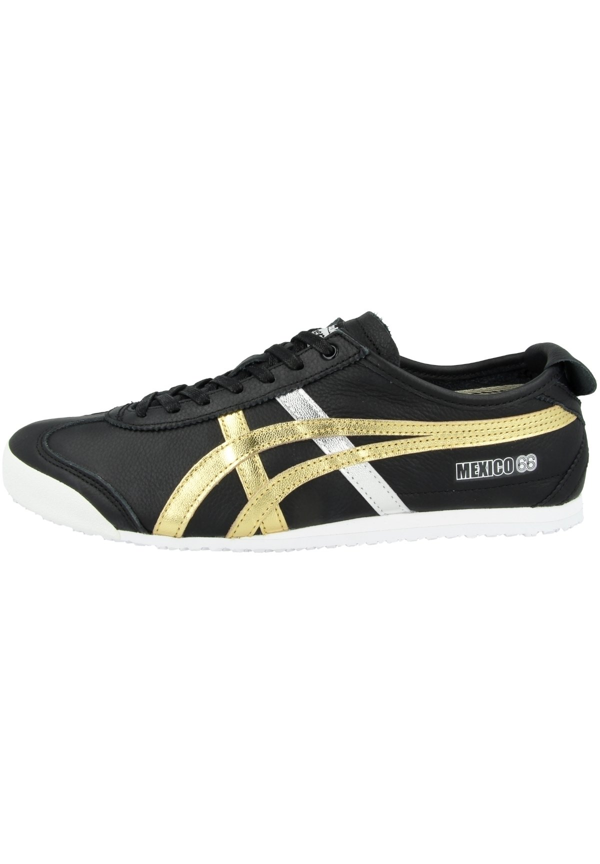 Donna MEXICO 66 - Sneakers basse - black-gold