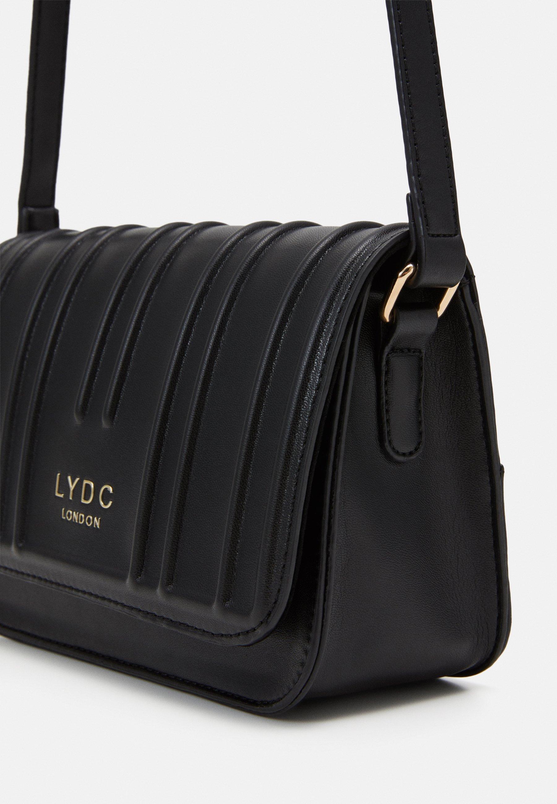 LYDC London Skulderveske - black/svart Jf4NPaCLwPnW7HR