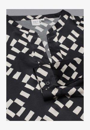 LANGARM PREMIUM - Tunic - schwarz/weiß
