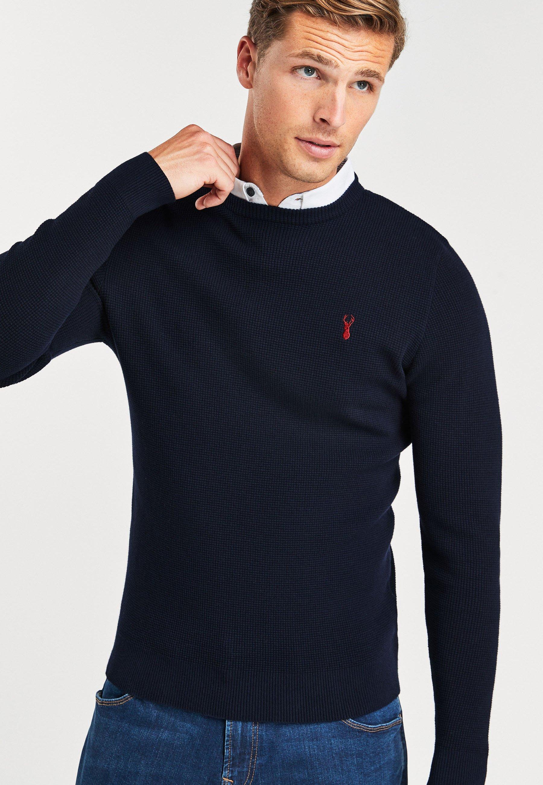 Homme OXFORD MOCK - Pullover