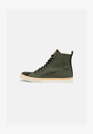 S-DVELOWS ML - High-top trainers - olive